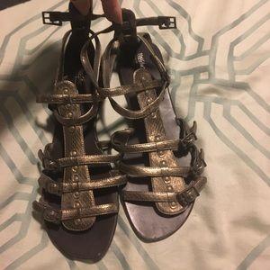 2 pairs Mossimo Gladiator sandals 8 1/2.